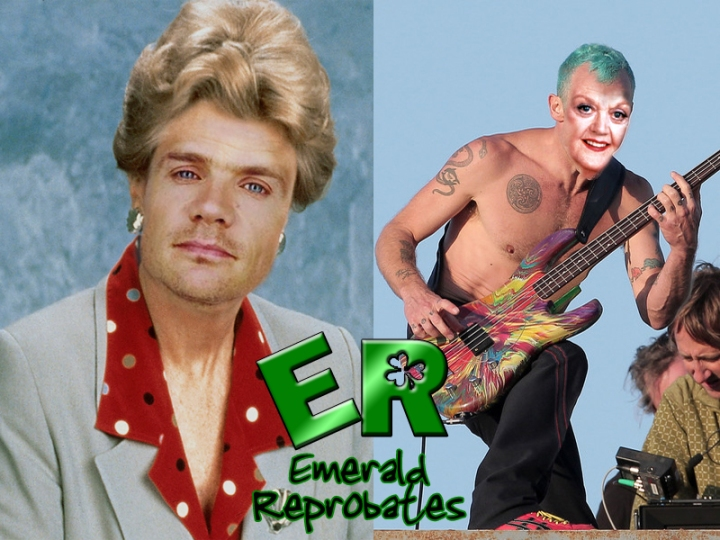 Flea and Angela Lansbury
