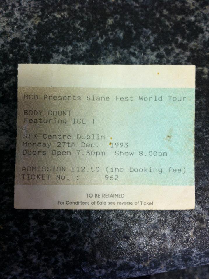 bodycount ticket